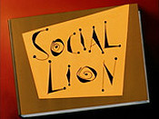 Social Lion Cartoon Picture