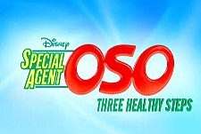 Special Agent Oso: Three Healthy Steps Episode Guide Logo