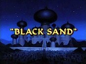 Black Sand Pictures Cartoons