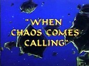 When Chaos Comes Calling Picture Of Cartoon