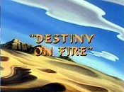 Destiny On Fire Picture To Cartoon
