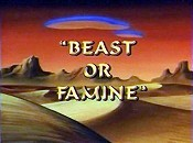Beast Or Famine Free Cartoon Picture
