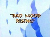 Bad Mood Rising Cartoon Character Picture
