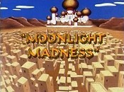 Moonlight Madness Free Cartoon Picture