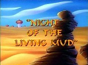 Night Of The Living Mud Free Cartoon Picture
