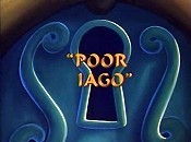 Poor Iago Free Cartoon Picture