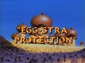 Egg-stra Protection Cartoon Character Picture