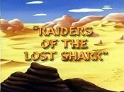 Raiders Of The Lost Shark Picture Into Cartoon
