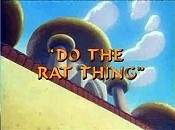 Do The Rat Thing Cartoon Character Picture