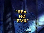 Sea No Evil Free Cartoon Picture