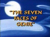 The Seven Faces Of Genie Cartoon Character Picture