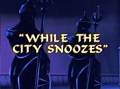 While The City Snoozes Cartoon Picture