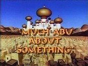 Much Abu About Something Cartoon Funny Pictures