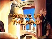 Strike Up The Sand Cartoon Picture