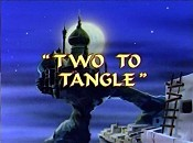 Two To Tangle Cartoon Picture