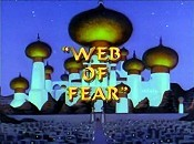 Web Of Fear Picture Into Cartoon