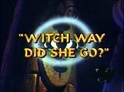 Witch Way Did She Go? Cartoon Funny Pictures