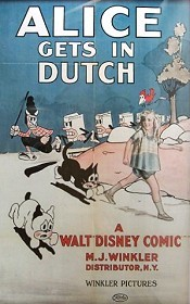 Alice Gets In Dutch Picture To Cartoon