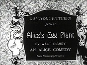 Alice's Egg Plant Cartoon Picture