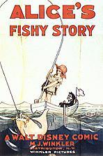 Alice's Fishy Story Cartoon Character Picture
