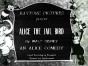 Alice The Jail Bird Free Cartoon Picture