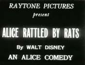 Alice Rattled By Rats The Cartoon Pictures