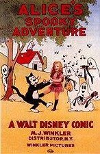 Alice's Spooky Adventure Cartoon Picture
