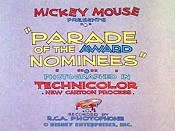 Parade Of The Award Nominees Unknown Tag: 'pic_title'