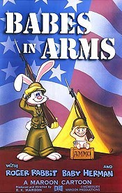 Babes In Arms Free Cartoon Picture