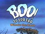 Boo! To You Too, Winnie The Pooh Free Cartoon Pictures