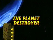The Planet Destroyer Cartoon Picture