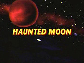 Haunted Moon Free Cartoon Picture