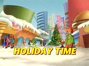 Holiday Time Picture To Cartoon