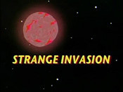 Strange Invasion Cartoon Picture