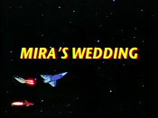 Mira's Wedding Picture To Cartoon