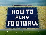 How To Play Football Cartoon Character Picture