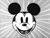 Mickey's Choo-Choo Picture Of Cartoon