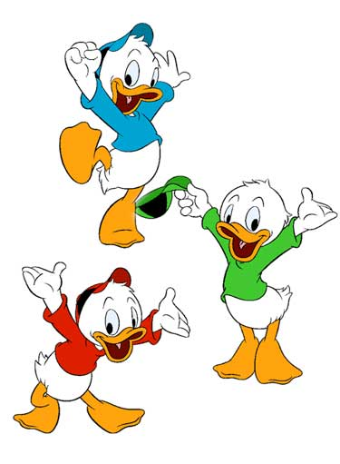 Huey, Dewey And Louie Cartoon Picture
