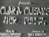 Clara Cleans Her Teeth Pictures Cartoons