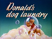 Donald's Dog Laundry Free Cartoon Picture