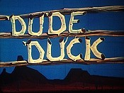 Dude Duck Picture Of Cartoon