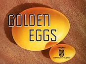 Golden Eggs Cartoon Character Picture