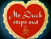 Mr. Duck Steps Out Free Cartoon Picture