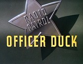 Officer Duck Free Cartoon Picture