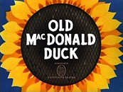Old MacDonald Duck Free Cartoon Picture
