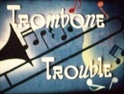 Trombone Trouble Cartoon Picture