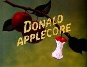 Donald Applecore Cartoon Character Picture