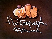 The Autograph Hound The Cartoon Pictures