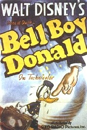 Bell Boy Donald Cartoon Picture