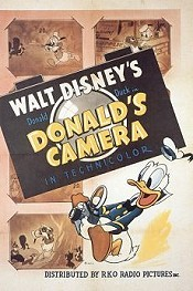 Donald's Camera Free Cartoon Picture